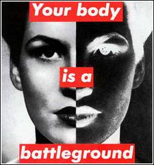 women body battleground