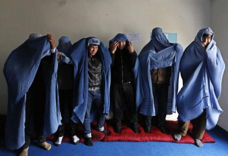 afghan men bura