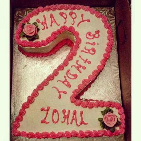 Zohal's beautiful and deliciously scrumptious cake. <3