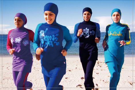 Aheda Zanetti's Burqini swim suits. Source: wwd.com
